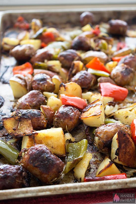 Sausage Potato Bake  Sausage Potato Bake Handle the Heat