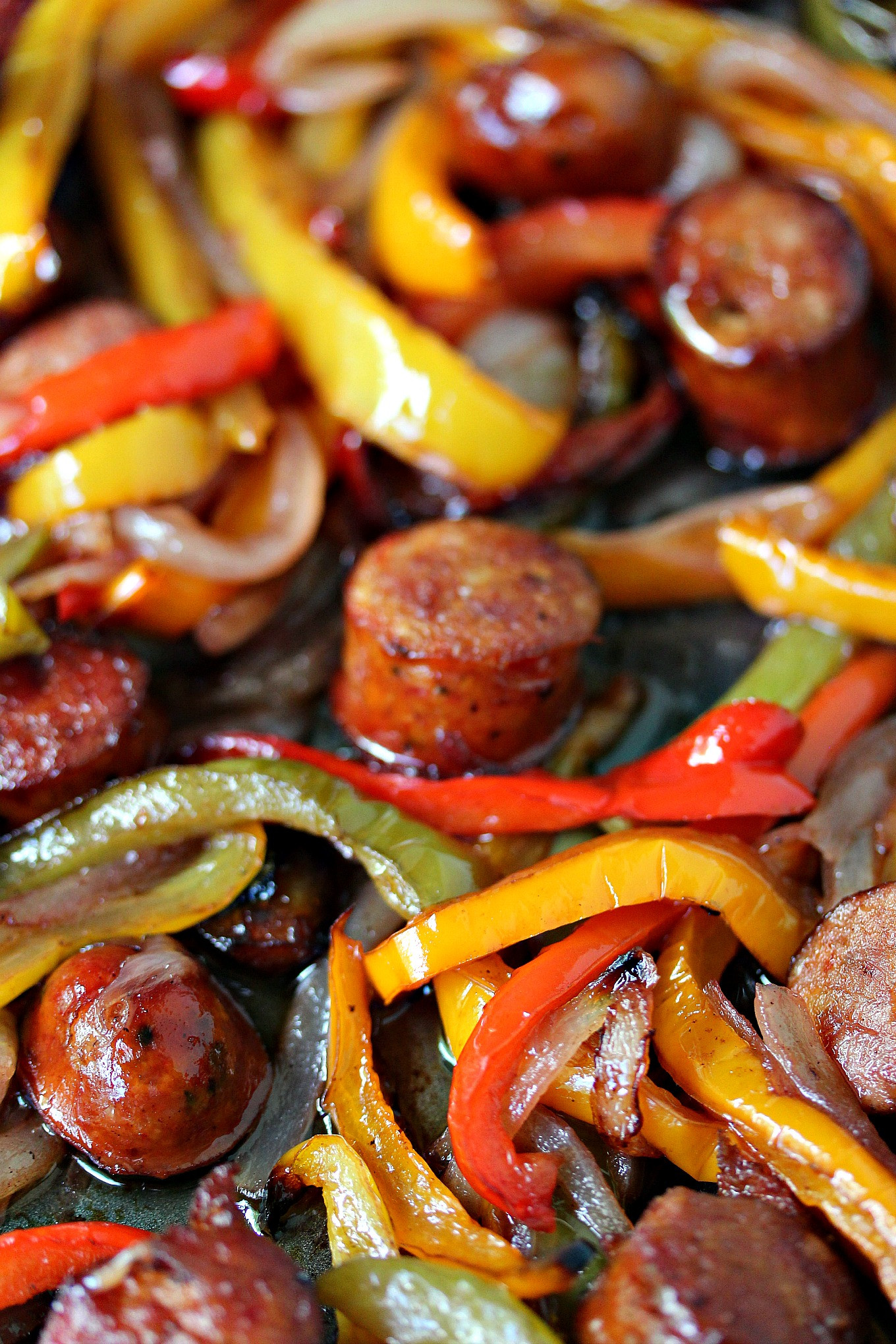 Sausage Recipes Dinner  Sheet Pan Sausage and Peppers