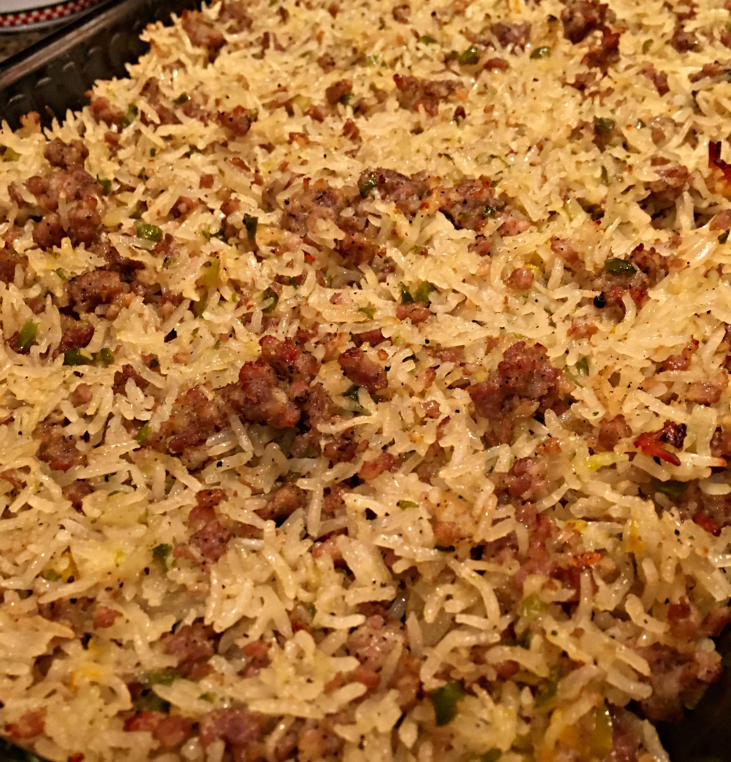 Sausage Rice Casserole  Sausage & Rice Casserole – The Farm Barbie – Real Food for