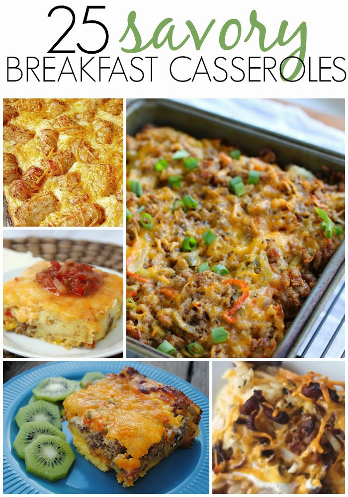 Savory Breakfast Casseroles  25 Savory Breakfast Casserole Recipes