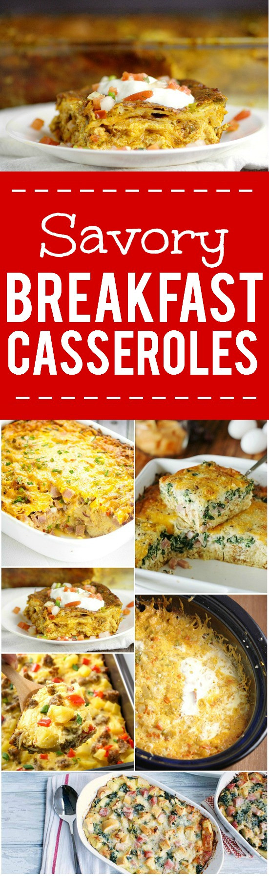 Savory Breakfast Casseroles  44 BEST Savory Breakfast Casserole Recipes