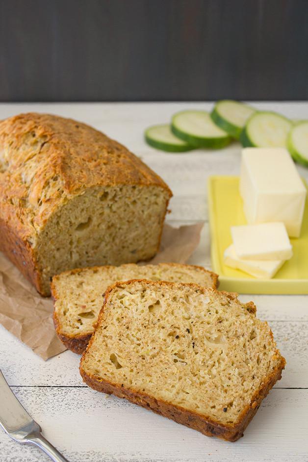 Savory Quick Bread  Savory Zucchini Cheese & Black Pepper Quick Bread