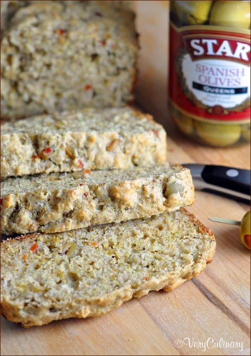 Savory Quick Bread  Olive Quick Bread