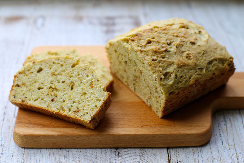 Savory Quick Bread  Garlic Gold – Organic Garlic Savory Garlic Herb Quick