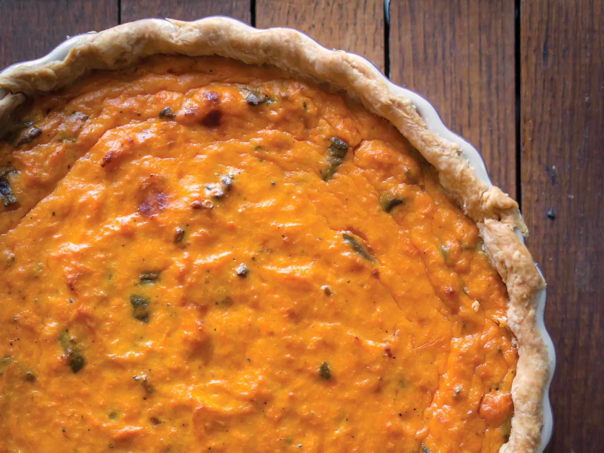 Savory Sweet Potato Recipes  Savory Sweet Potato Pie Recipe Peg s Home Cooking