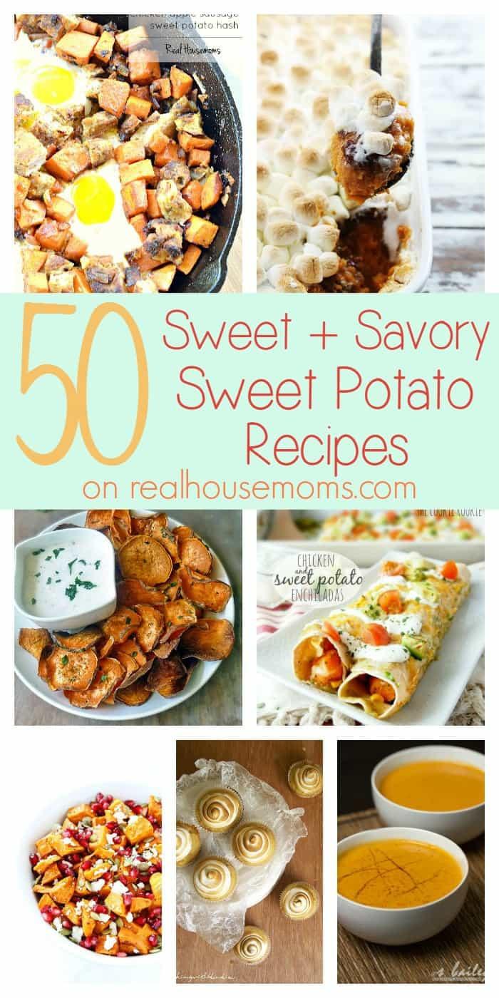 Savory Sweet Potato Recipes  savory sweet potato recipes