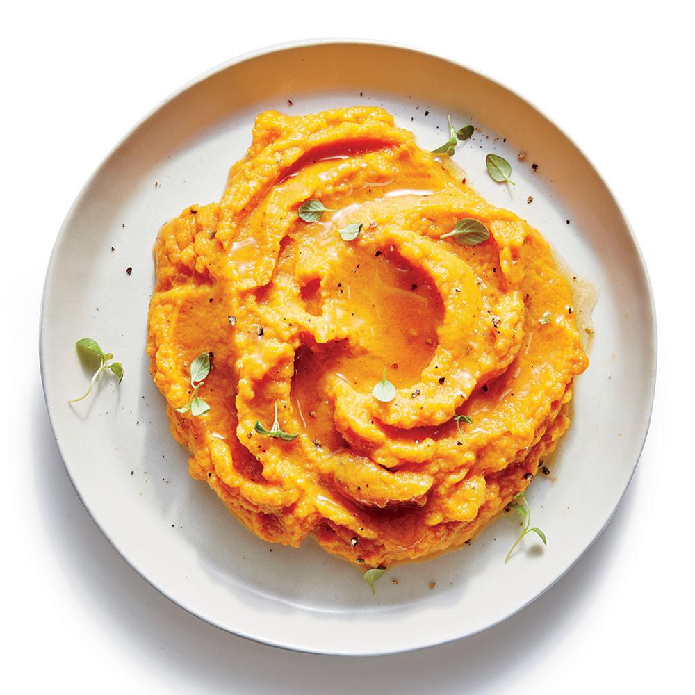 Savory Sweet Potato Recipes  Savory Sweet Potato Mash Recipe Cooking Light