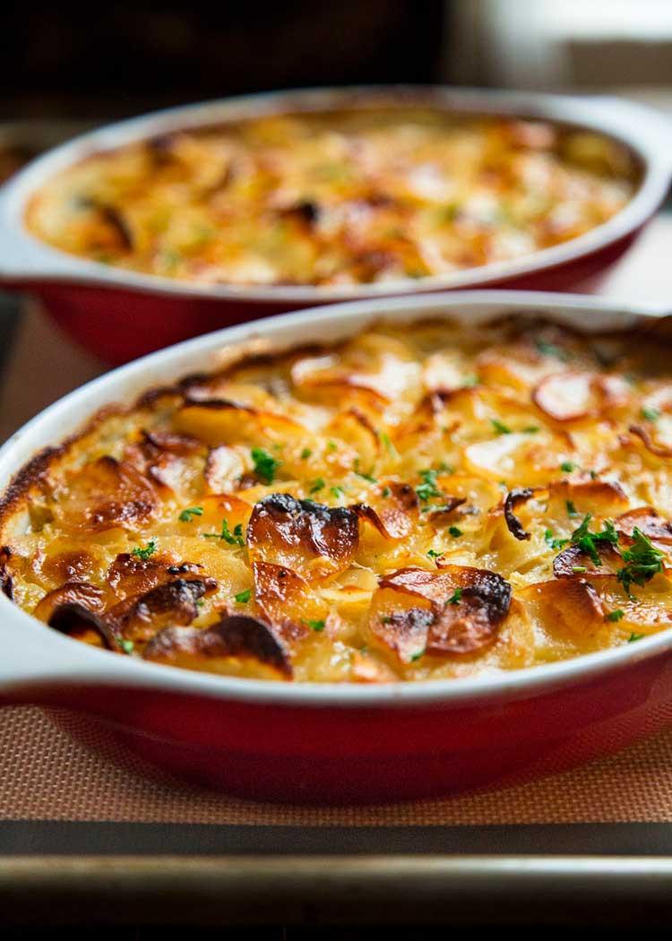 Scalloped Potato Casserole  Beef Marsala and Scalloped Potato Casserole Kevin Is Cooking