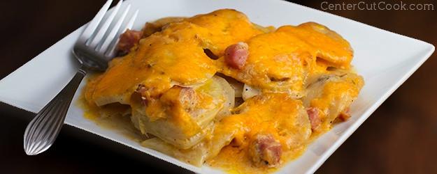 Scalloped Potato Casserole  Cheesy Scalloped Potato Casserole Recipe