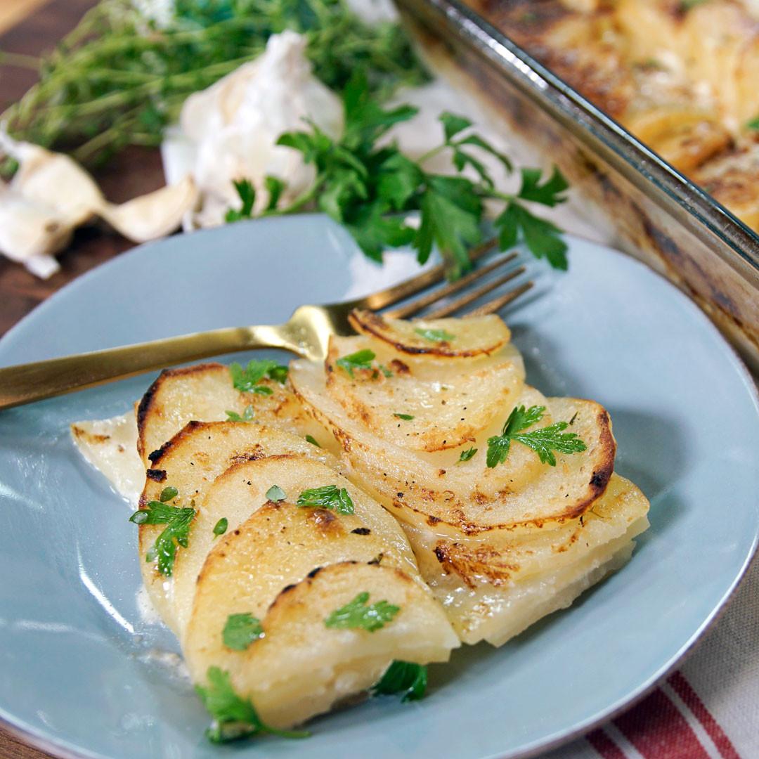 Scalloped Potatoes No Cheese  quick scalloped potatoes no cheese