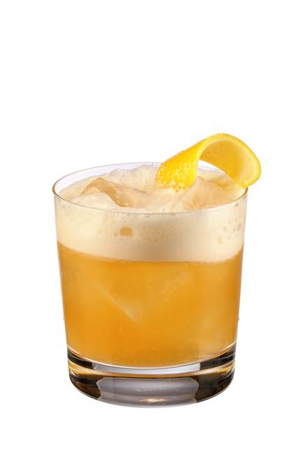 Scotch Whiskey Drinks  Smoky Whisky Sour Cocktail Recipe