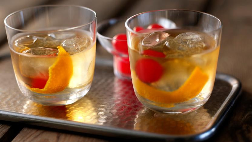 Scotch Whiskey Drinks  Old fashioned whisky cocktail recipe BBC Food