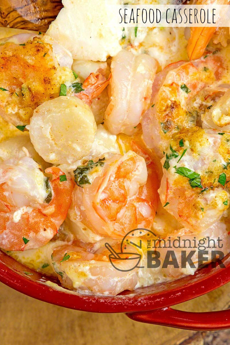 Seafood Casserole Recipe  Seafood Casserole The Midnight Baker