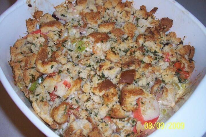 Seafood Casserole Recipe  Baked Seafood Casserole Recipe