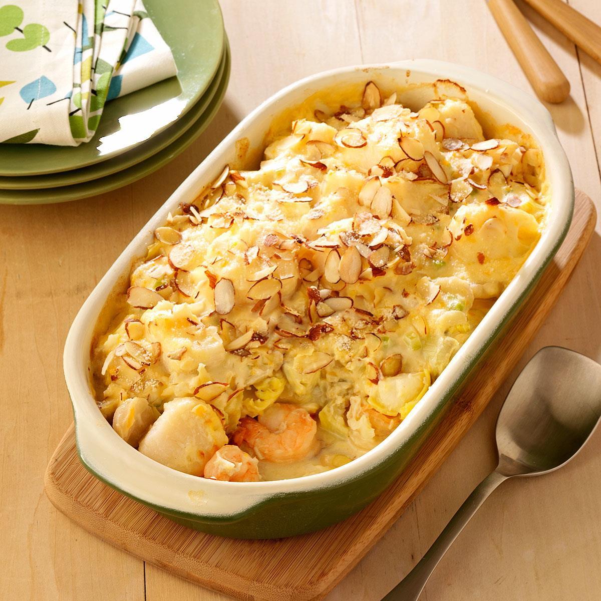 Seafood Casserole Recipe  Special Seafood Casserole Recipe