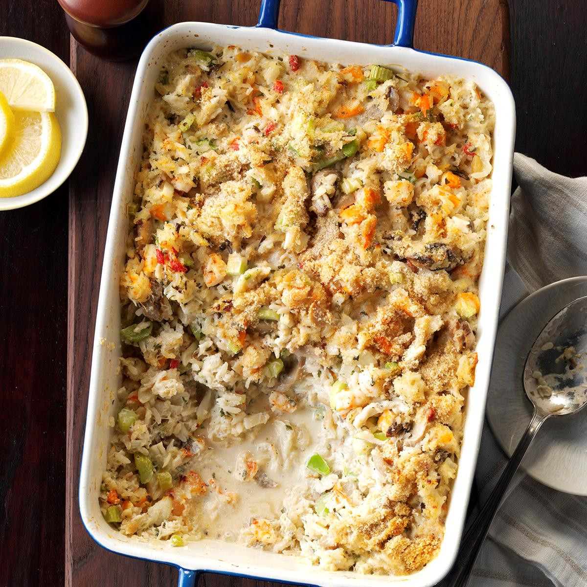 Seafood Casserole Recipes  Seafood Casserole Recipe