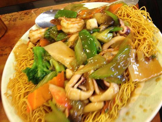 Seafood Pan Fried Noodles  Seafood Pan fried noodles Awesome Picture of Gourmet