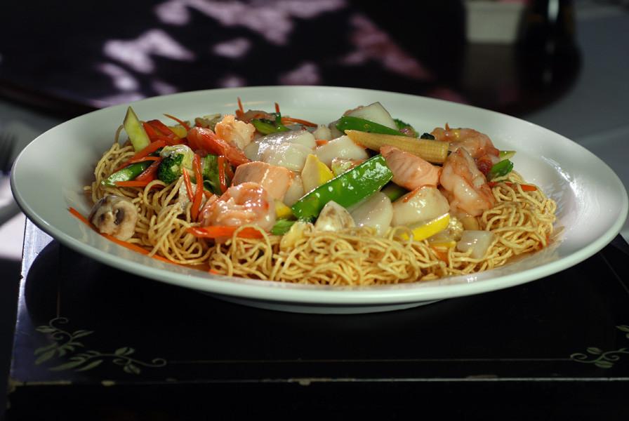 Seafood Pan Fried Noodles  Menu