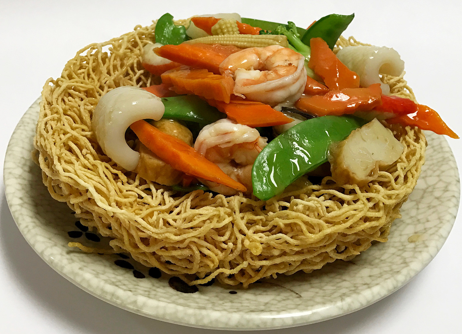 Seafood Pan Fried Noodles  Seafood Pan Fried Noodles Pho Palace