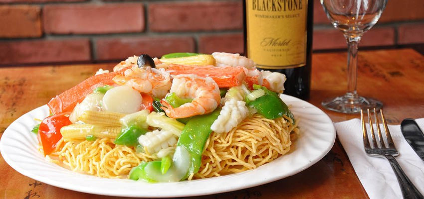 Seafood Pan Fried Noodles  Visual Slideshow