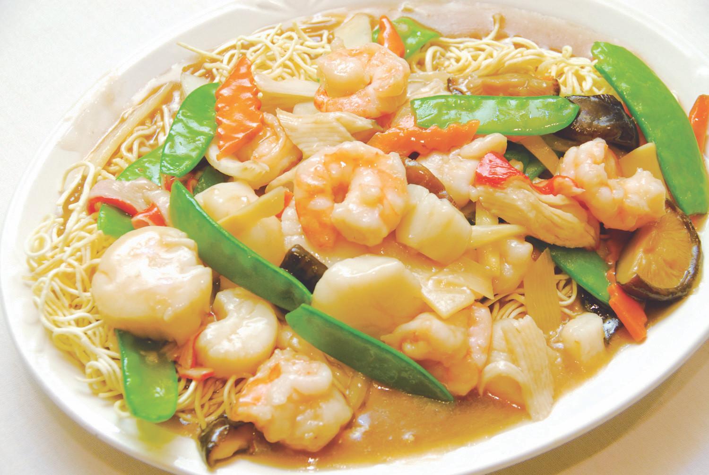 Seafood Pan Fried Noodles  Szechuan Restaurant in Canton MI