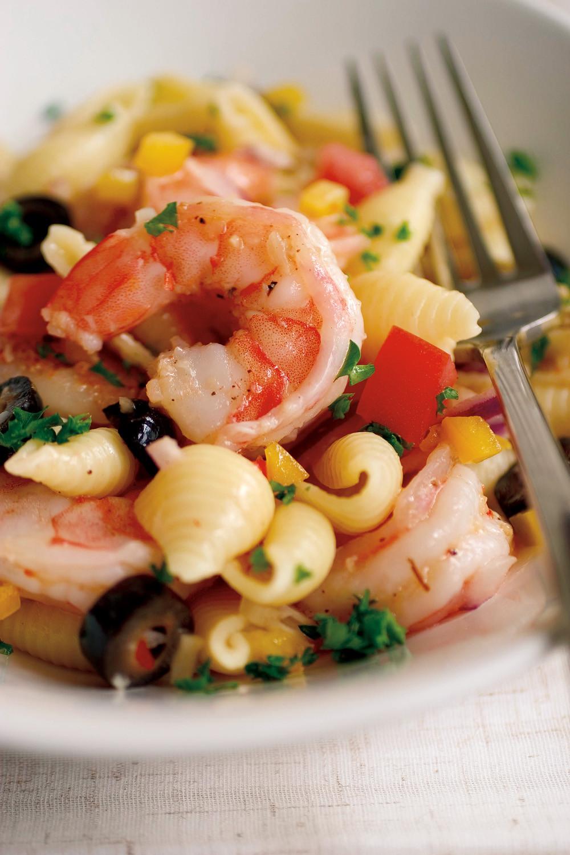 Seafood Pasta Salad  Shrimp and Pasta Salad Recipe Relish
