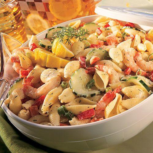 Seafood Pasta Salad  Dilly Seafood Pasta Salad Recipes