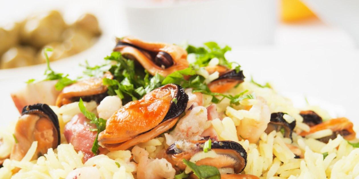 Seafood Risotto Recipe  Seafood Risotto Risotto ai Fruitti di Mare recipe