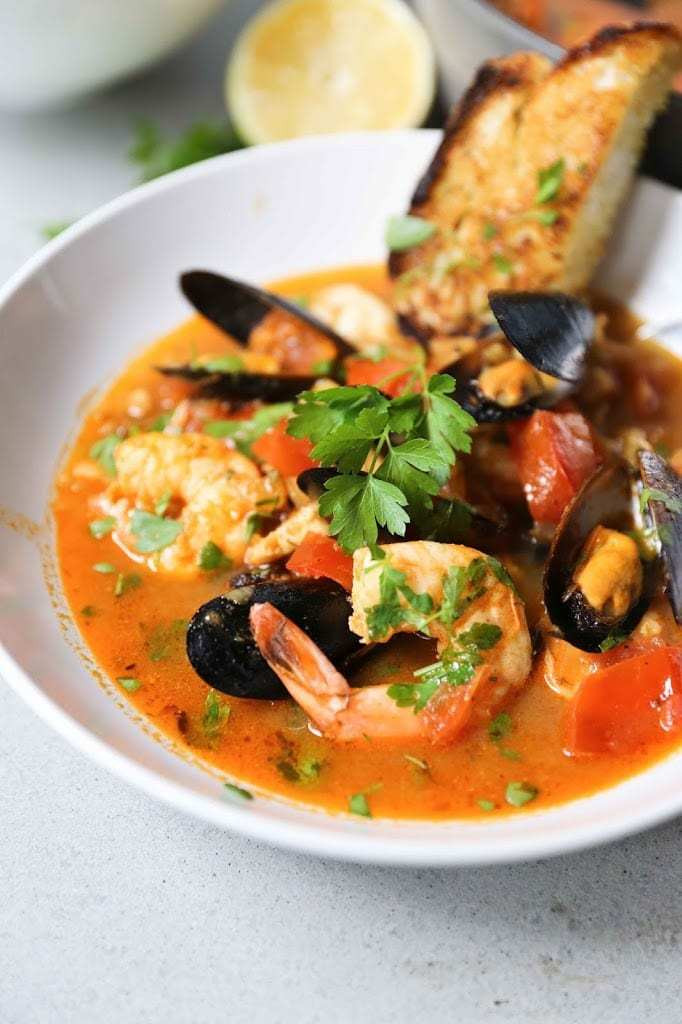 Seafood Stew Recipes  Summer Seafood Stew