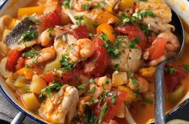Seafood Stew Recipes  Basque seafood stew recipe goodtoknow