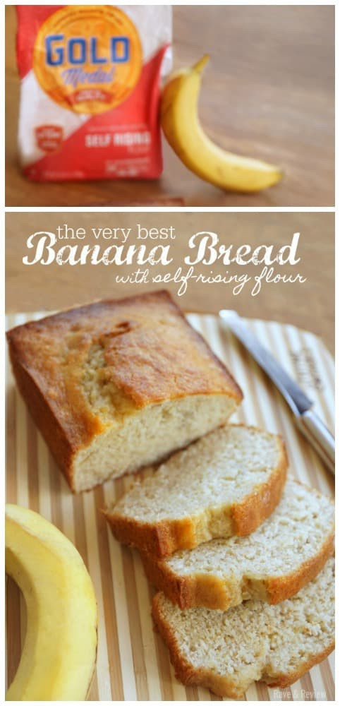Self Rising Flour Bread Recipe  The very best banana bread with self rising flour Rave