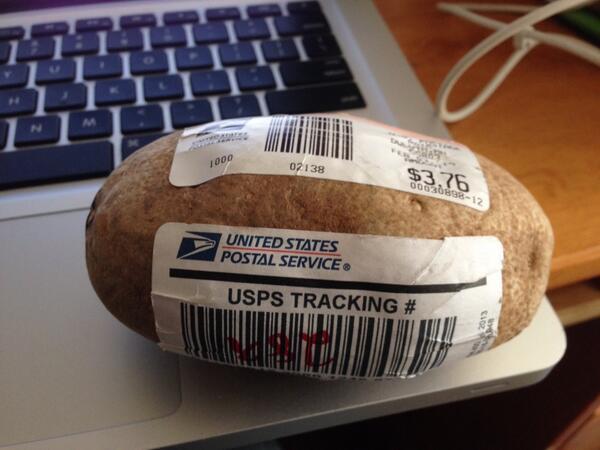 Send A Potato  Send a Spud a Potato with a Message