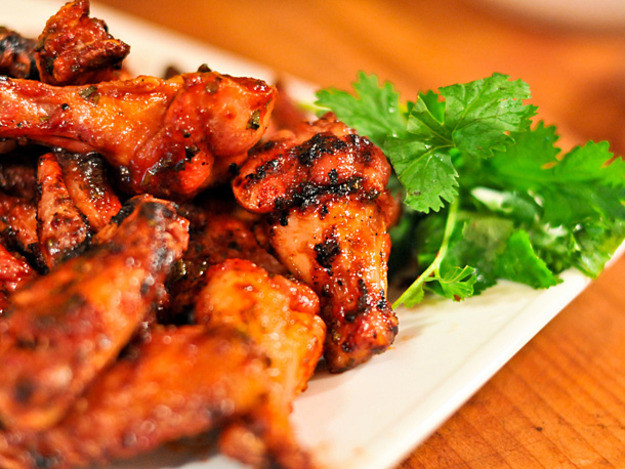Serious Eats Chicken Wings  Grilled Sriracha Hot Wings Recipe