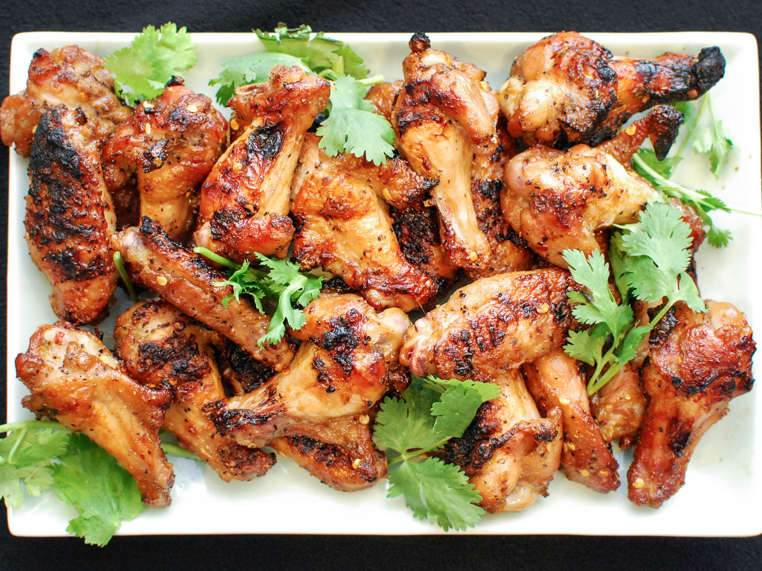 Serious Eats Chicken Wings  Grilled Spicy Chicken Wings With Soy and Fish Sauce Recipe