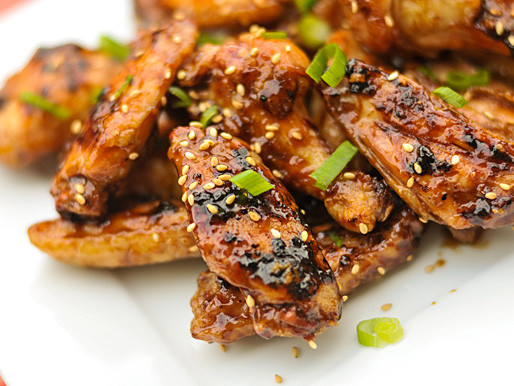 Serious Eats Chicken Wings  Grilled Hoisin Glazed Chicken Wings Recipe