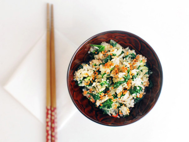 Serious Eats Fried Rice  Bok Choy and Kale Fried Rice With Fried Garlic
