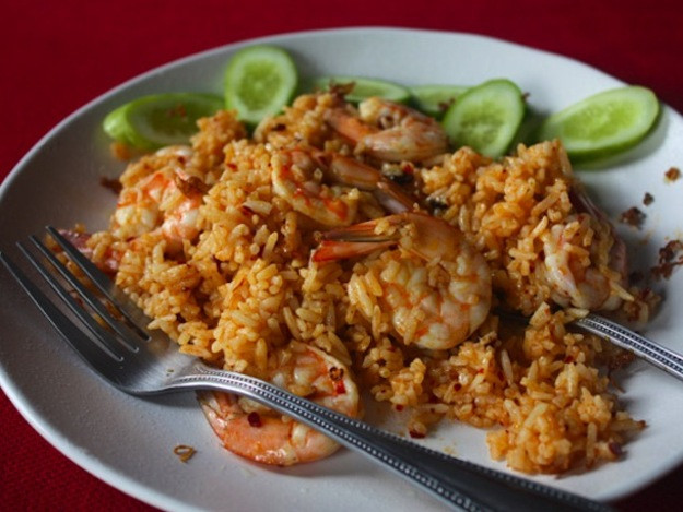 Serious Eats Fried Rice  My Thai Shrimp Fried Rice with Nam Prik Pao and Crispy