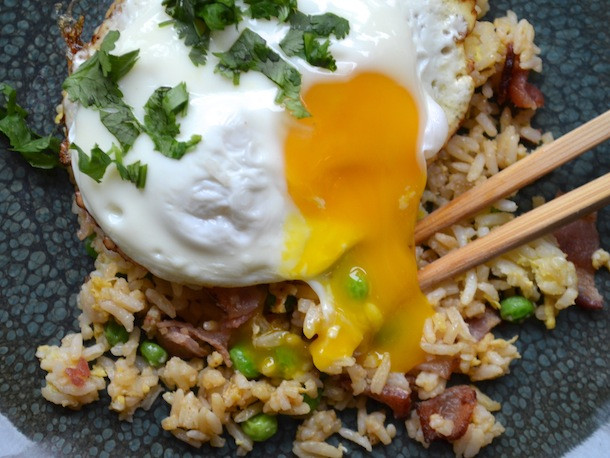 Serious Eats Fried Rice  Bacon and Egg Fried Rice Recipe