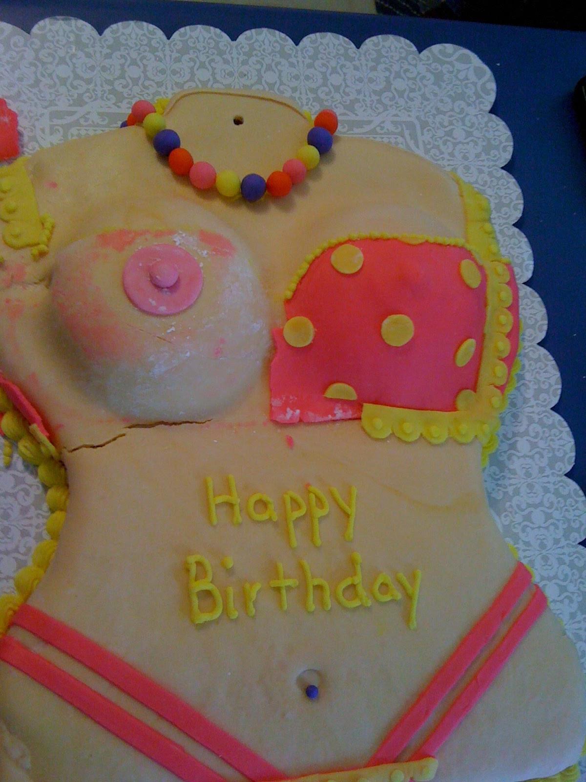 Sexy Birthday Cake  Fancy Frosting y Birthday Cake