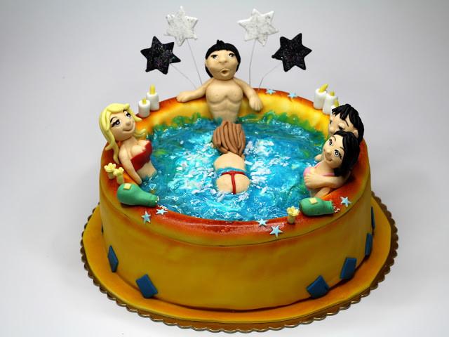Sexy Birthday Cake  Birthday Cakes London