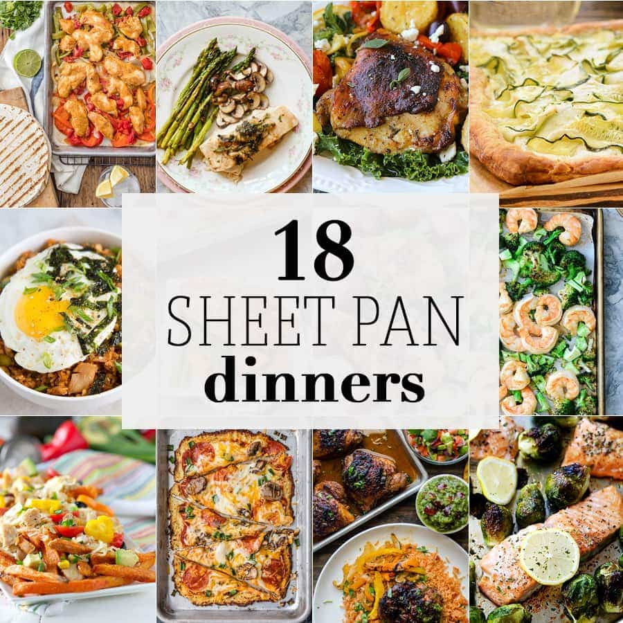 Sheet Pan Dinner  10 Sheet Pan Dinners The Cookie Rookie