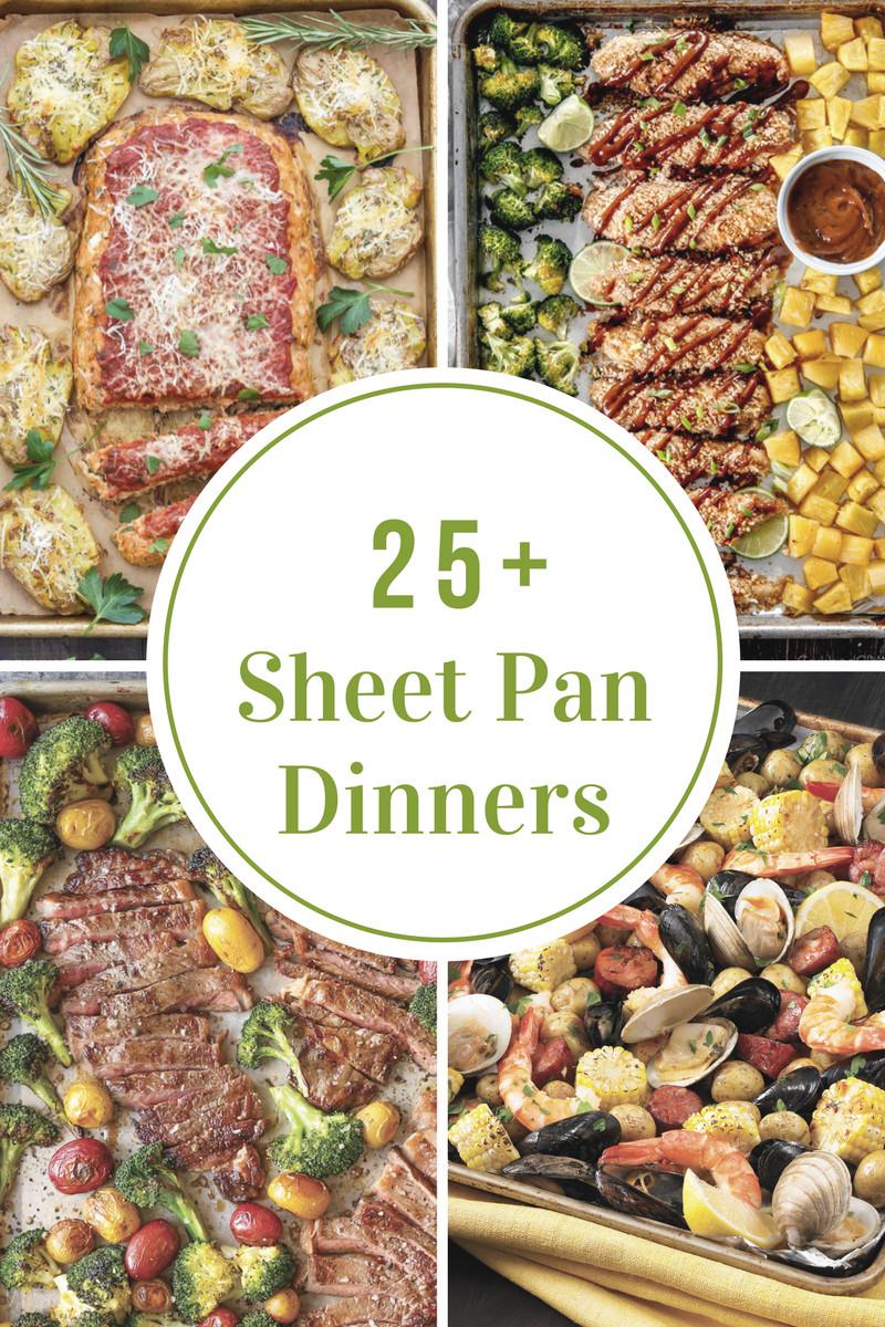 Sheet Pan Dinner Recipes  Sheet Pan Dinner Recipes The Idea Room