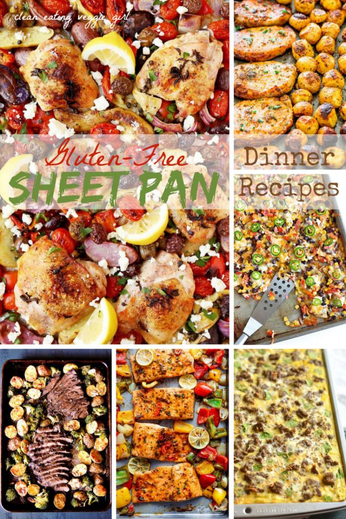 Sheet Pan Dinner Recipes  Gluten Free Sheet Pan Dinner Recipes Clean Eating Veggie