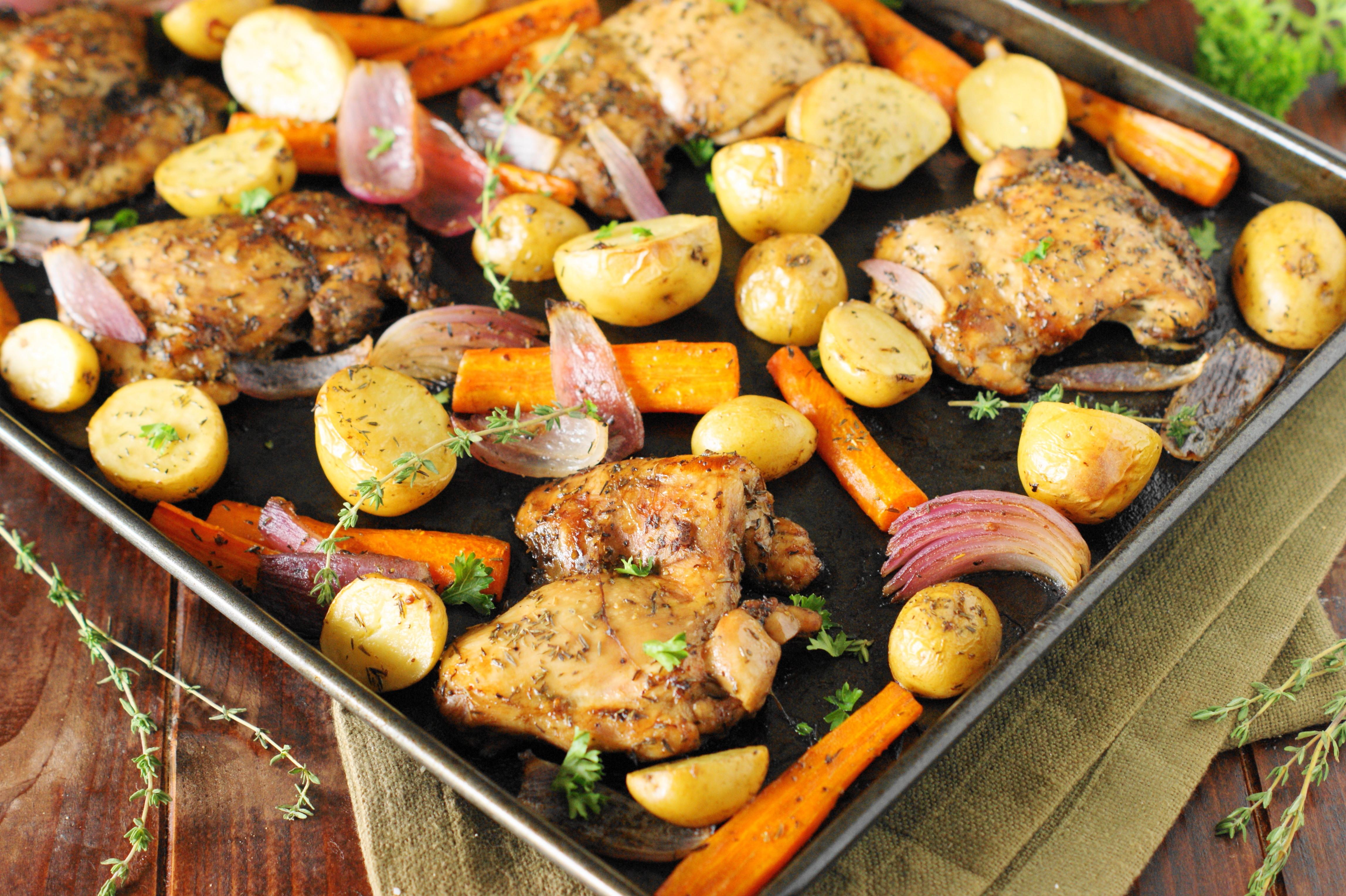 Sheet Pan Dinner  How To Make A Sheet Pan Dinner 3 Ways Genius Kitchen