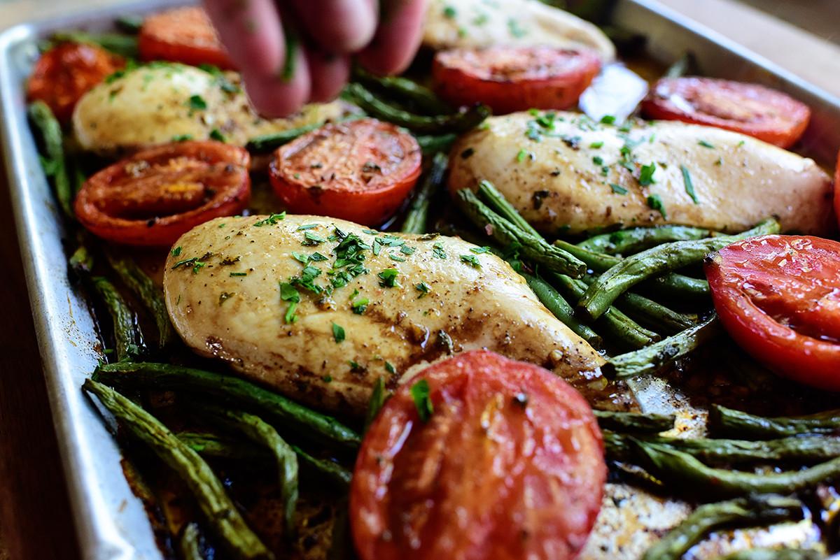 Sheet Pan Dinners Pioneer Woman  Italian Chicken Sheet Pan Supper