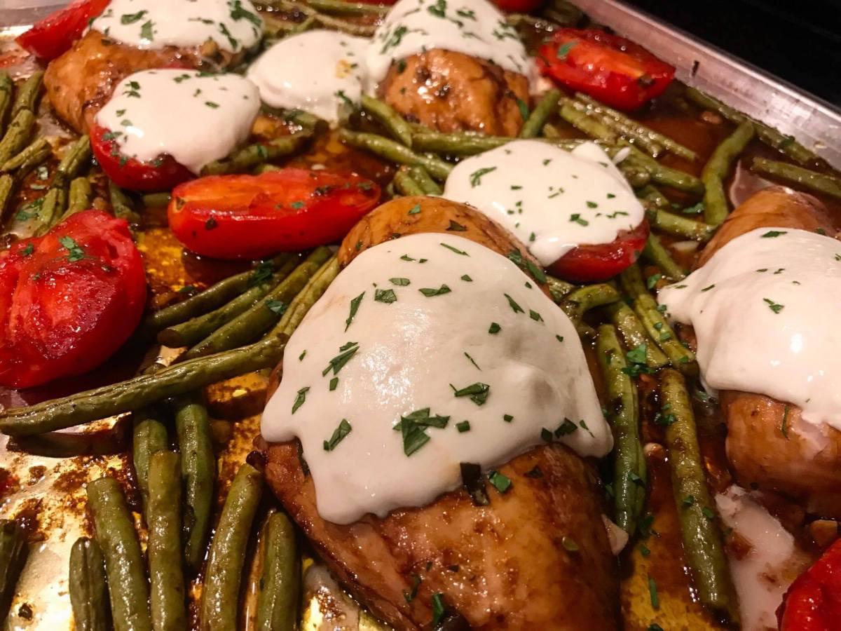 Sheet Pan Dinners Pioneer Woman  Italian Chicken Sheet Pan Supper a Pioneer Woman Recipe
