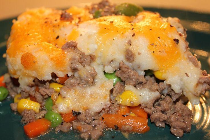 Shepherd'S Pie With Ground Beef  100 Shepherds Pie Recipes on Pinterest