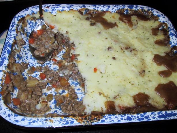 Shepherd'S Pie With Ground Beef  Ground Beef Shepherds Pie Recipe Food