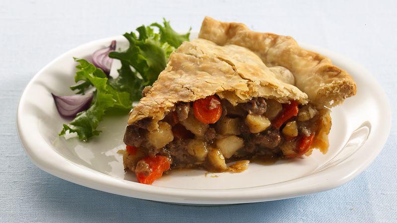 Shepherd'S Pie With Ground Beef  Ground Beef Pot Pie Recipe Pillsbury