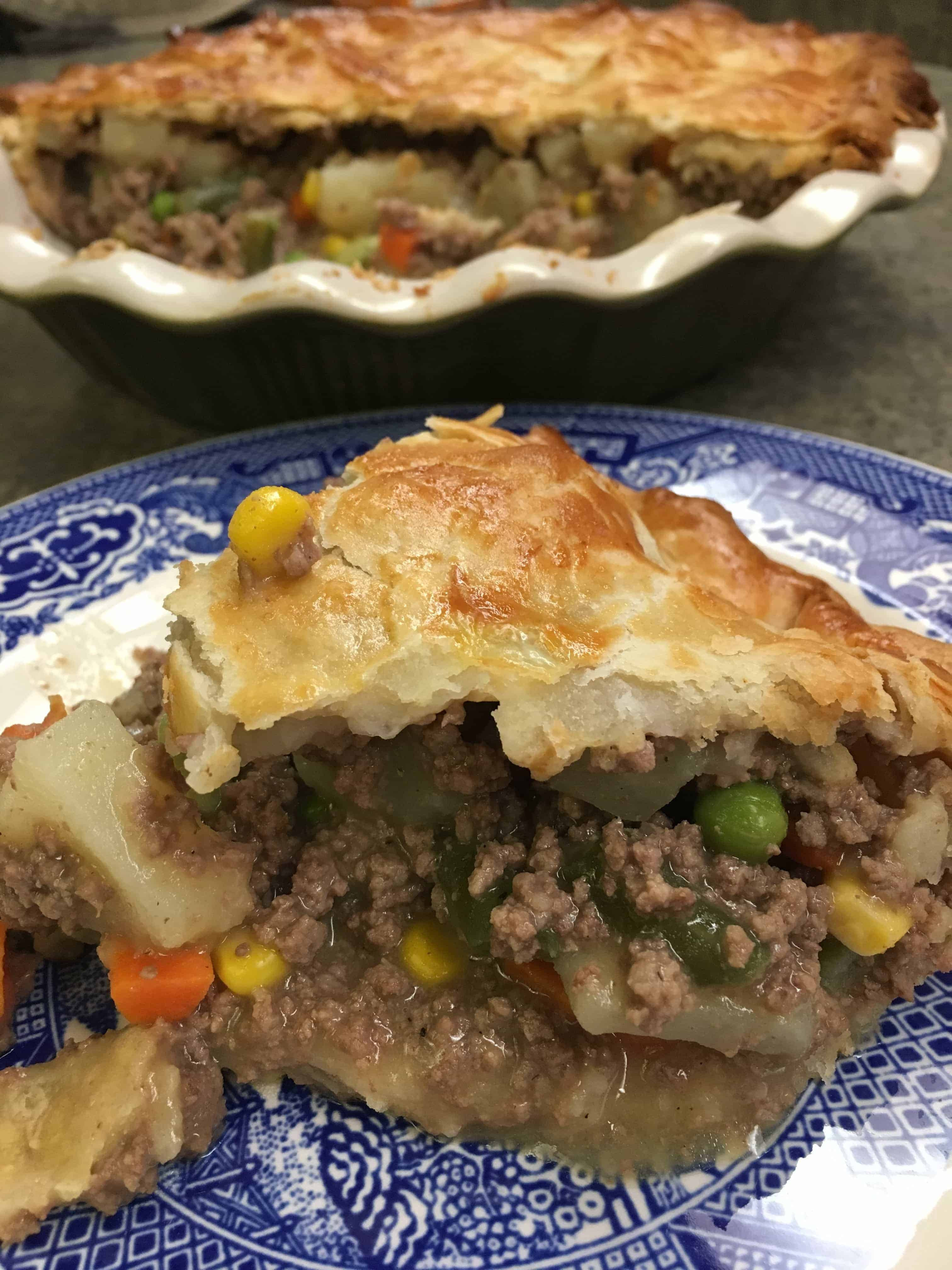 Shepherd'S Pie With Ground Beef  Easy Ground Beef Pot Pie Recipe Back To My Southern Roots